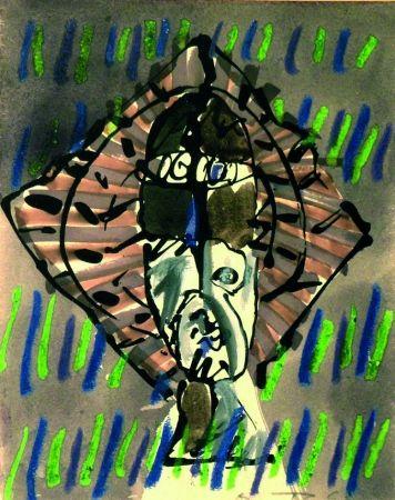 Lithograph Ortega - Figura