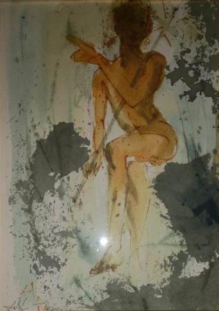 Lithograph Dali - Figura