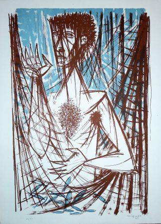 Lithograph Migneco - Figura