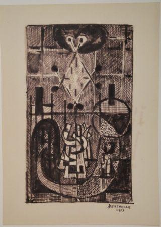 Monotype Bertholle - Figure