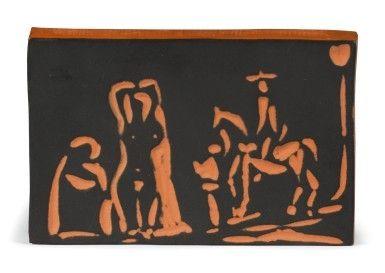 Ceramic Picasso - Figure and Cavalier