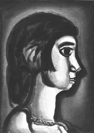 Etching And Aquatint Rouault - Fille dite de joie