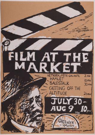Screenprint Kentridge - Film at the Market