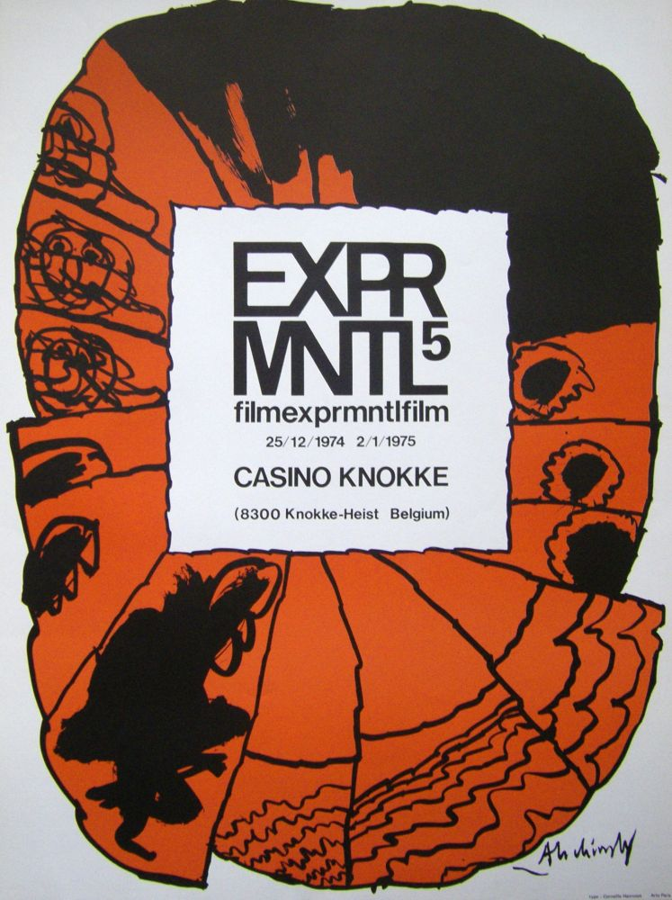 Poster Alechinsky - Filmexprmntlfilm