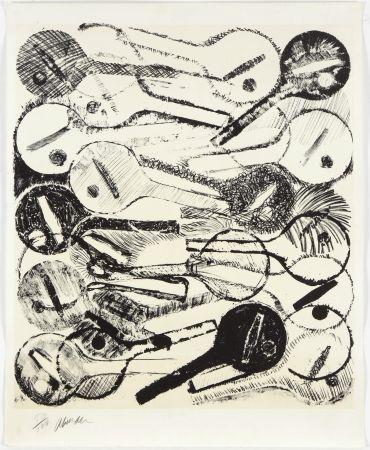 Lithograph Arman - Filtres À Air, 1969