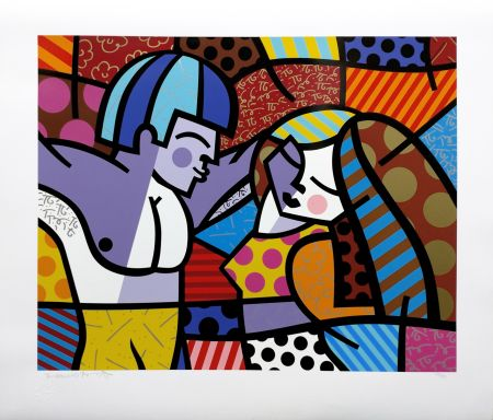 Screenprint Britto - FIRST LOVE
