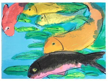 Lithograph Ting - Fish