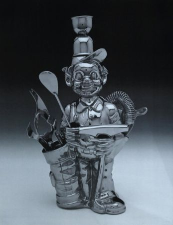 Lithograph Koons - Fisherman Golfer