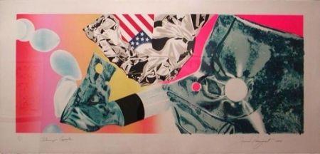 Screenprint Rosenquist - Flamingo Capsule