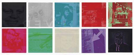 Screenprint Warhol - Flash – November 22, 1963 (FS II.32-42), Complete Portfolio