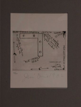 Engraving Dine - Flat corner brace