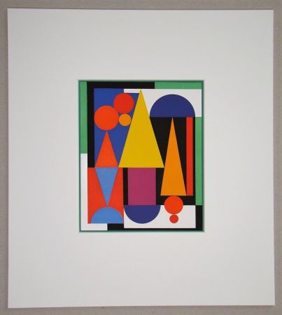 Screenprint Herbin - Fleur fruit - 1945