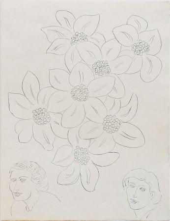 Engraving Matisse - Fleurs