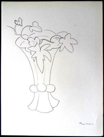 Lithograph Matisse - Fleurs