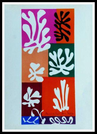 Lithograph Matisse (After) - FLEURS DE NEIGNE