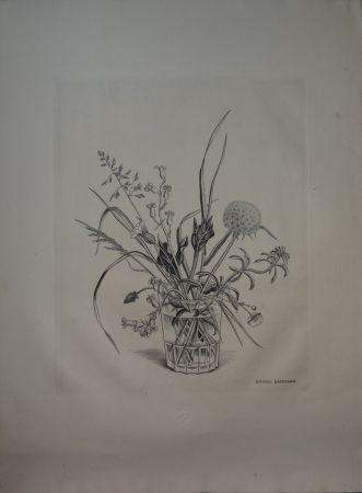 Drypoint Hasegawa - Fleurs de Printemps