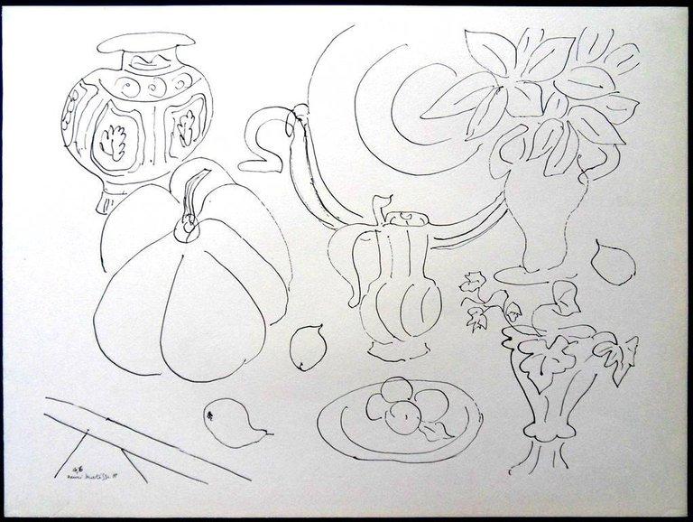 Lithograph Matisse - Fleurs et Vases