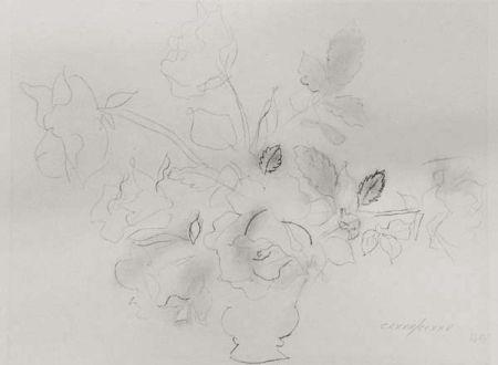 Lithograph Dufy - «Fleurs II»