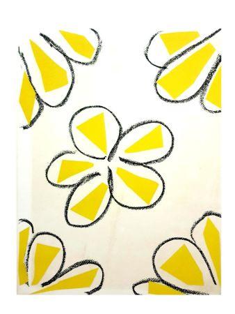 Lithograph Matisse - Fleurs Jaune
