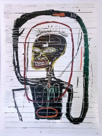 Screenprint Basquiat - FLEXIBLE