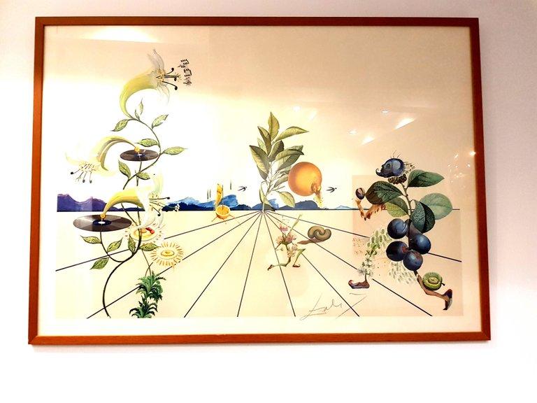 Lithograph Dali - Flordali I
