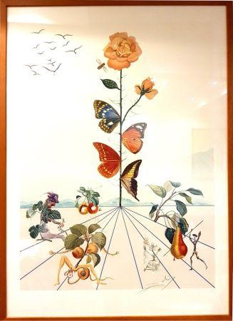 Lithograph Dali - Flordali II