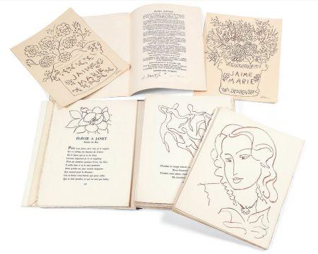 Illustrated Book Matisse - FLORILÈGE DES AMOURS DE RONSARD (Skira 1948). 1/30 avec suite monogrammée au crayon.