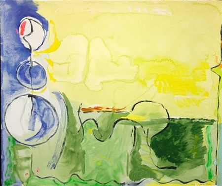 Screenprint Frankenthaler - Flotilla