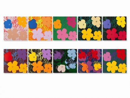 Screenprint Warhol (After) - Flowers