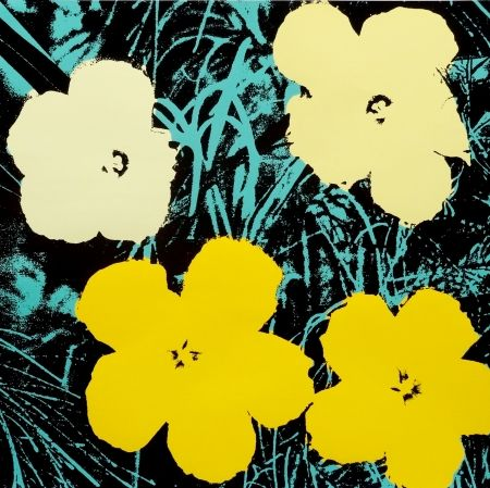 Screenprint Warhol - Flowers