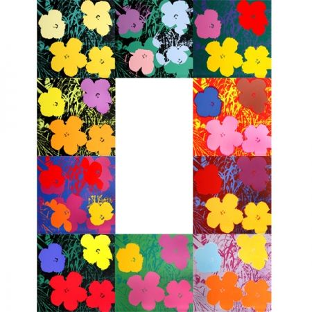 Screenprint Warhol (After) - Flowers - Portfolio
