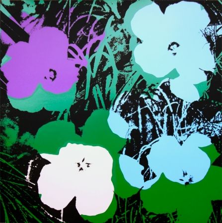 Screenprint Warhol (After) - Flowers 11.64