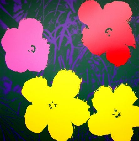 Screenprint Warhol (After) - Flowers 11.65