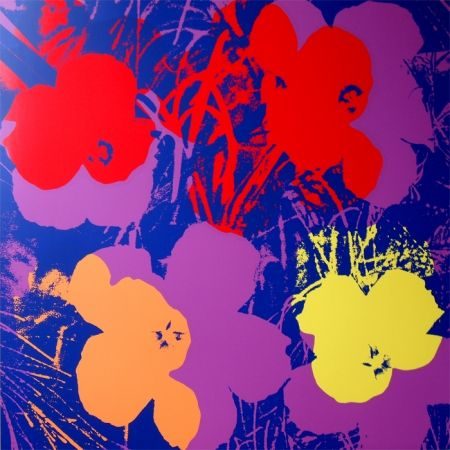 Screenprint Warhol (After) - Flowers 11.66