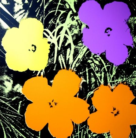 Screenprint Warhol (After) - Flowers 11.67