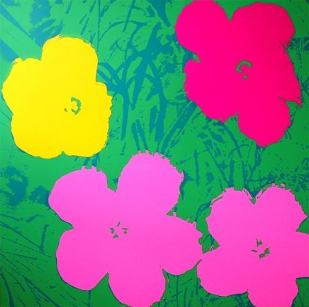 Screenprint Warhol (After) - Flowers 11.68