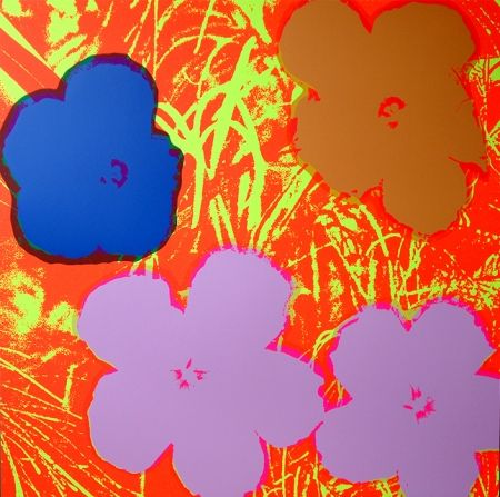 Screenprint Warhol (After) - Flowers 11.69