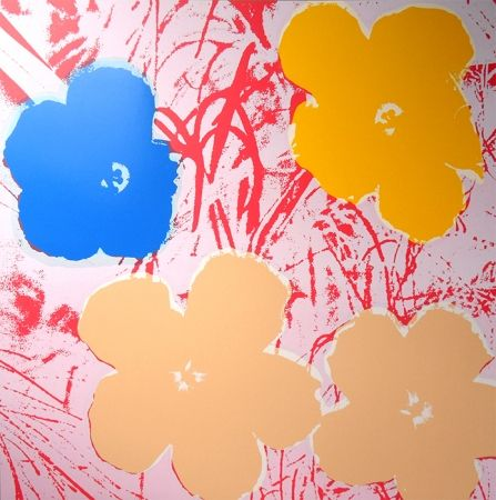Screenprint Warhol (After) - Flowers 11.70