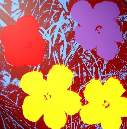 Screenprint Warhol (After) - Flowers 11.71