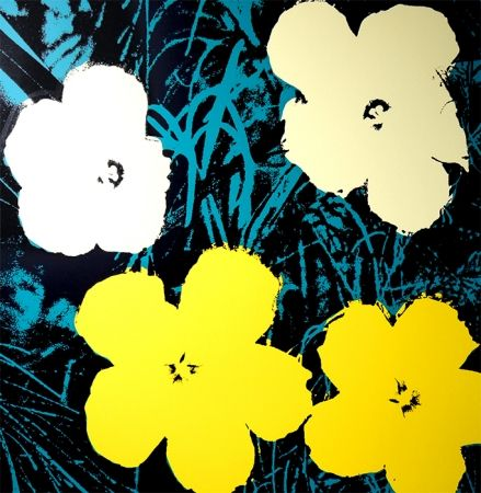 Screenprint Warhol (After) - Flowers 11.72