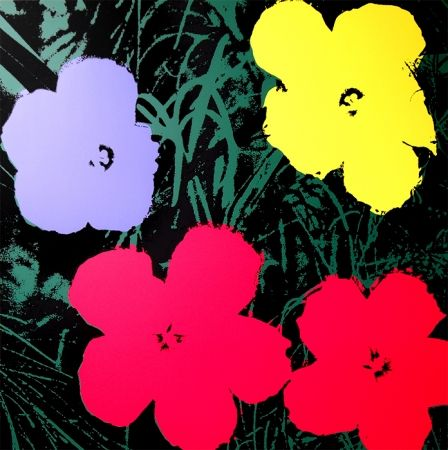Screenprint Warhol (After) - Flowers 11.73