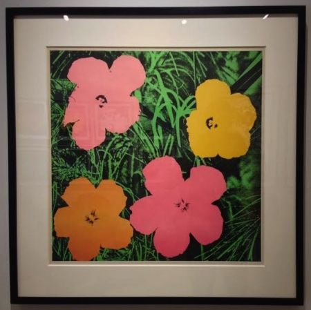 Offset Warhol - Flowers 1964