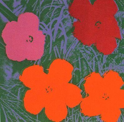 Screenprint Warhol (After) - Flowers #65- Sunday B. Morning