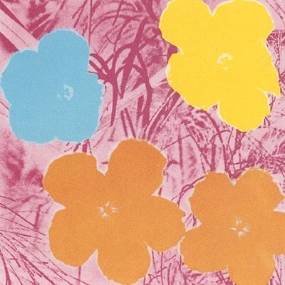 Screenprint Warhol (After) - Flowers #70- Sunday B. Morning