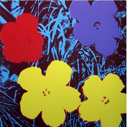 Screenprint Warhol (After) - Flowers (by Sunday B. Morning)