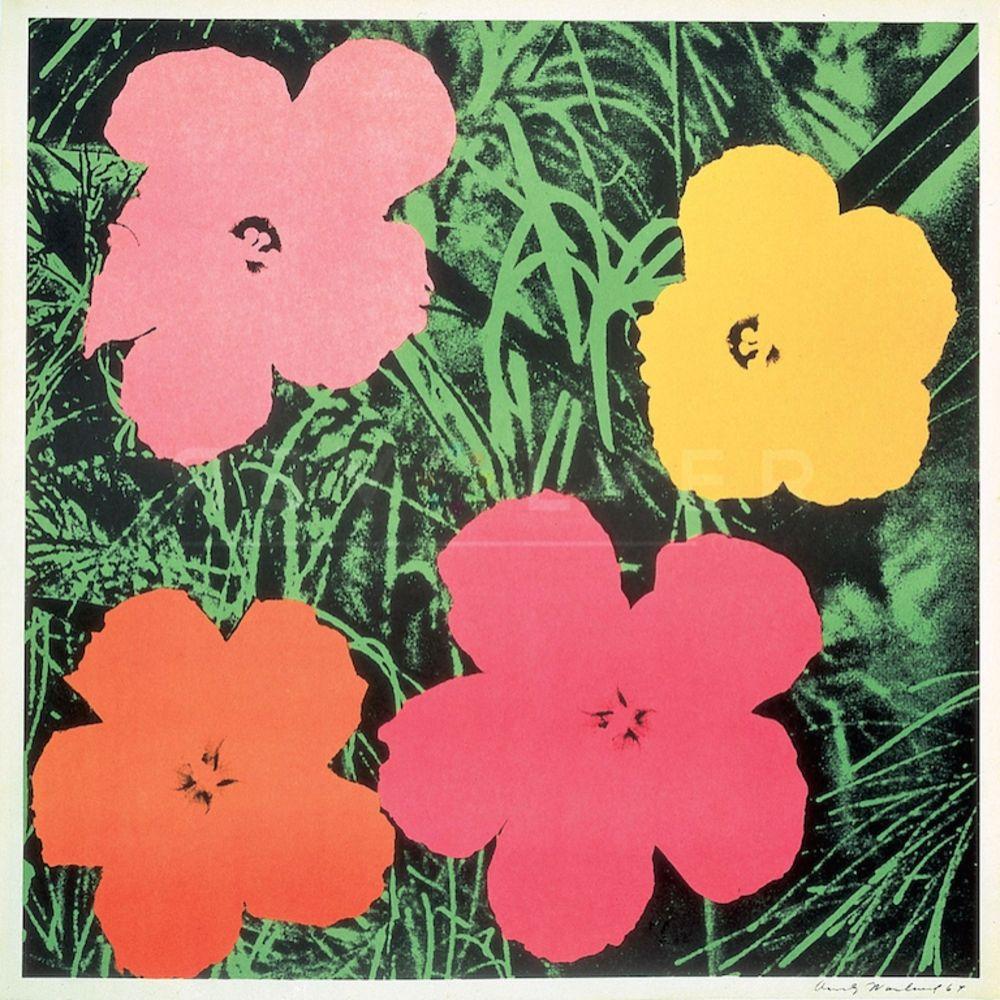 Screenprint Warhol - Flowers (FS II.6)