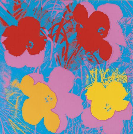 Screenprint Warhol - Flowers (FS II.66)