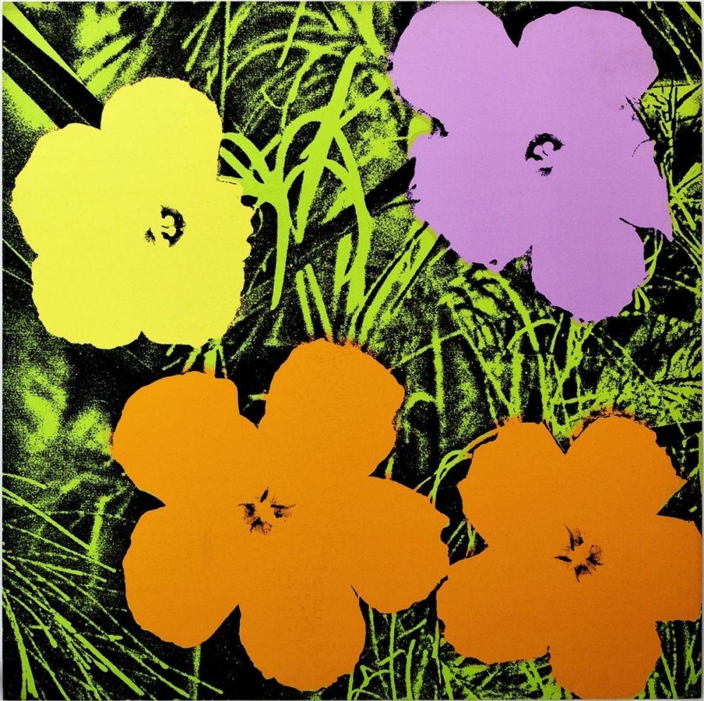 Screenprint Warhol - Flowers (FS II.67)