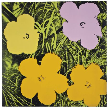 No Technical Warhol - Flowers (FS II.67)