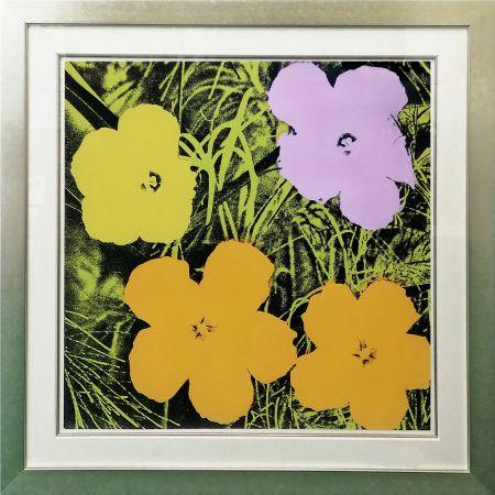 Screenprint Warhol - FLOWERS FS II.67